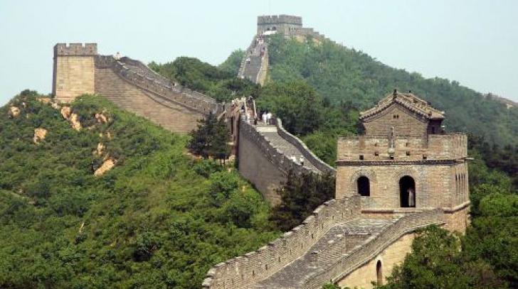 Marele Zid Chinezesc a fost construit acum mai bine de 2.200 de ani