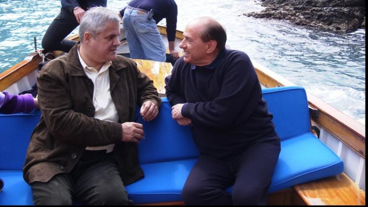 Adrian Năstase şi Silvio Berlusconi, doi foşti premieri în aceeaşi barcă