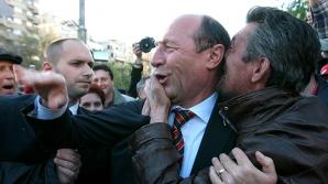 REFERENDUM 2012 Traian Băsescu, în campanie la Cluj