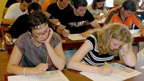 BACALAUREAT 2012: Subiect de rezervă, pentru doi candidaţi din Suceava care au întârziat