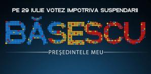 Referendum 2012 - Afiş pro-Băsescu