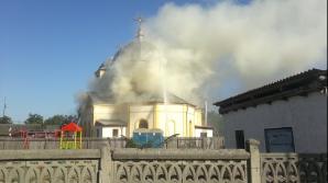 Incendiu la biserica din Sf. Gheorghe