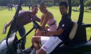 Novak Djokovic şi Maria Şarapova