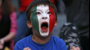 FINALA EURO 2012 SPANIA-ITALIA: Fanii Italiei sunt disperaţi