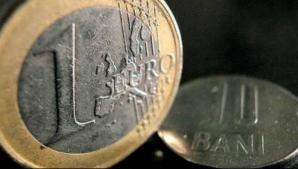 Euro scade la cursul BNR
