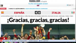 Presa spaniolă jubilează