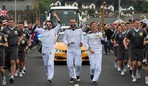 Trupa MUSE a purtat flacăra olimpică
