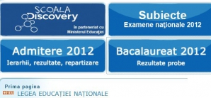 Rezultatele Bacalaureat 2012 vor fi afisate online duminica, 8 iulie, asigura edu.ro