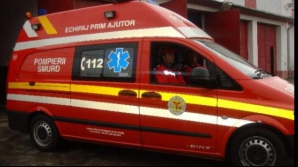 Doi copii răniţi în Capitală. Au fost loviţi de un tren