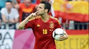 Finala Euro 2012: Spania-Italia 4-0