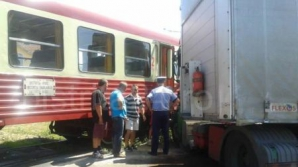 Accident feroviar în Bistriţa