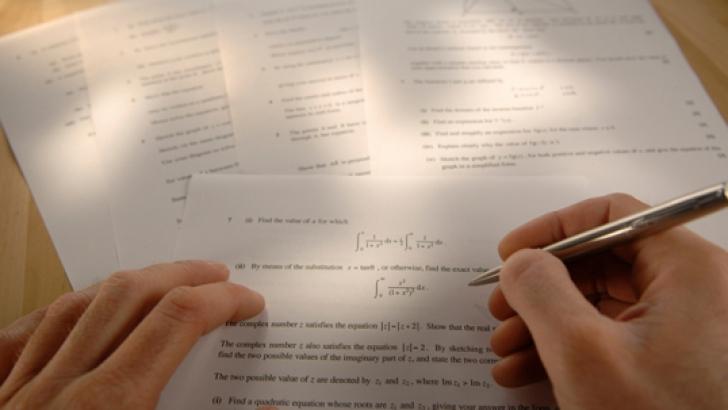 Elevii îşi pot vedea lucrările de la examenul de EVALUARE NAŢIONALĂ