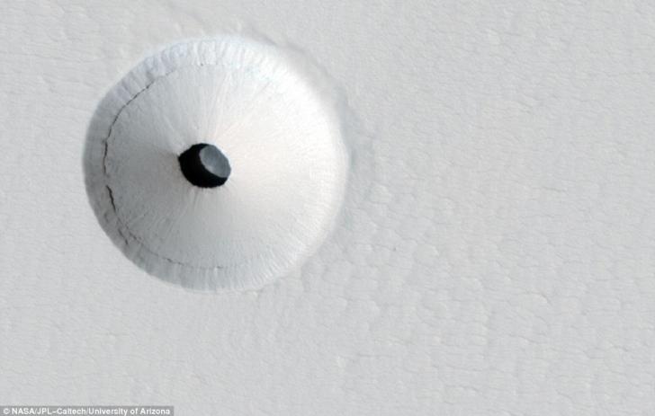 Caverna de pe Marte