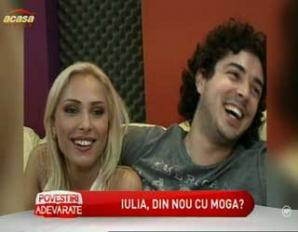 Iulia Vântur şi Marius Moga