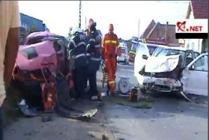 Accident pe DN1, în Alba