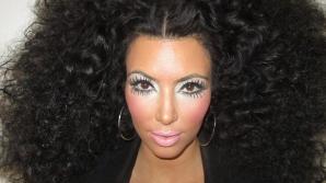 Kim Kardashian, piţipoanca supremă: a încercat să o imite pe Diana Ross. Foto: Twitter