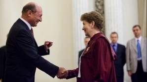 Traian Băsescu şi Aspazia Cojocaru