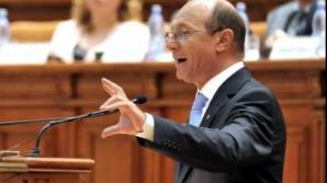 Traian Băsescu ajunge iar la mâna Parlamentului