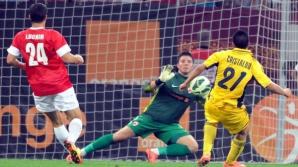 Cristaldo a adus victoria pentru Metalist în meciul cu Dinamo