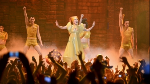 LADY GAGA's concert in Romania. Pleased Lady Gaga fans and TWO big SCANDALS