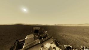Marte în modul Street View