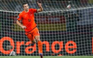 Van Persie a marcat pentru Olanda