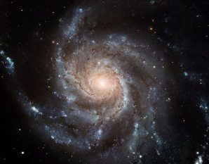 Uriaşa galaxie-spirală Pinwheel (Messier 101)