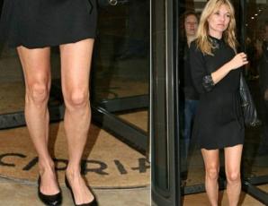 Cele mai frumoase vedete cu...cele mai urâte picioare