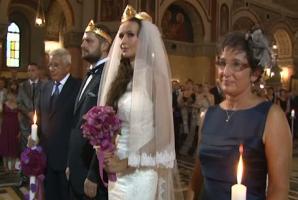 Nunta anului în Banat. Fiica lui Sorin Frunzăverde s-a căsătorit