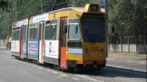 Două tramvaie s-au ciocnit la Galaţi