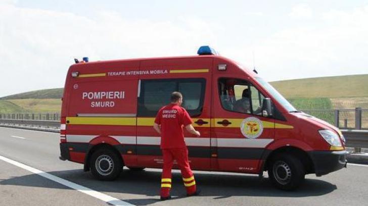 Accident grav la Cluj