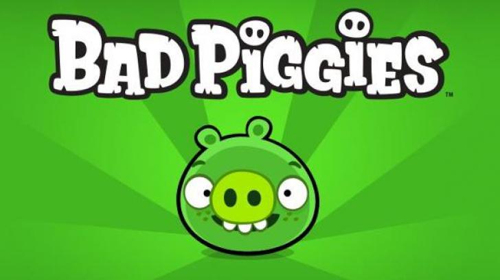 """Bad Piggies"" - Continuare faimosului ""Angry Birds"", va fi lansat VINERI"