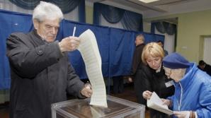 Alegerile din Ucraina s-au încheiat