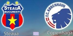 Steaua-Copenhaga în Europa League