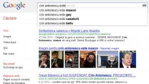 Crin Antonescu este mason, gay, căsătorit şi beţiv
