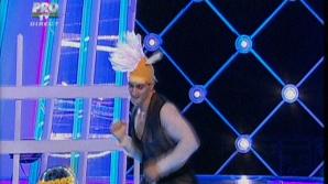 Marian Drăgulescu a fost Calul lui Harap Alb la Dansez pentru tine şi a dansat Gangnam Style