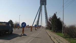 Restricţii de circulaţie pe podul Agigea