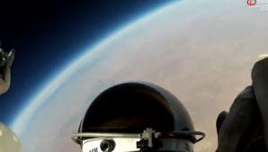 Saltul din spaţiu, aşa cum l-a văzut Felix Baumgartner