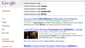 Traian Băsescu este mason, evreu, suspendat şi demis