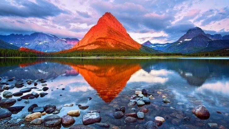 Muntele Grinnell, parcul naţional din Montana