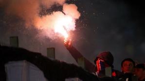 Bătaie între fani înainte de STeaua-Dinamo