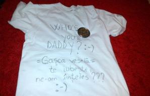 Ce cadou a primit tăticul Horia Brenciu pe Facebook