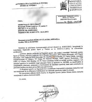Documentul ANST