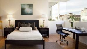 Birouri amenajate în dormitor