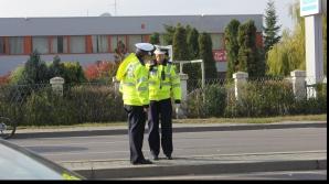 ACCIDENT grav în Cluj. O maşină s-a răsturnat într-o curbă