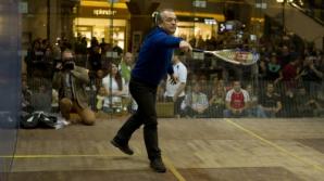 Emil Boc a jucat squash la finalul turneului de la Cluj / Foto: provincianews.ro