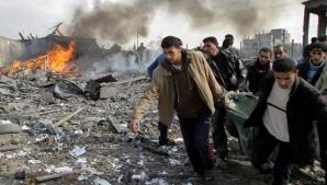Schimb de focuri în Fâşia Gaza