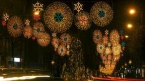 Luminiţele de Crăciun în Bucureşti vor fi aprinse în ajun de Moş Nicolae