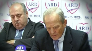 Liderul PDl Ştefan Gheorghe a adormit în timpul conferinţei lui Stolojan