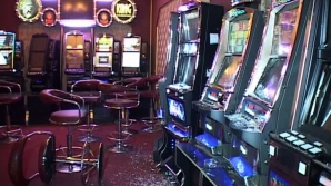 Sala de jocuri a fost devastată